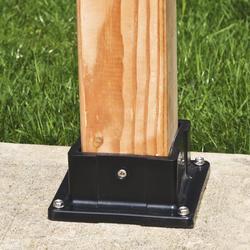Yardworks 4x4 Plastic Post Anchor At Menards 174