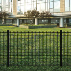 4 X 6 Black Euro Fence Panel At Menards 174