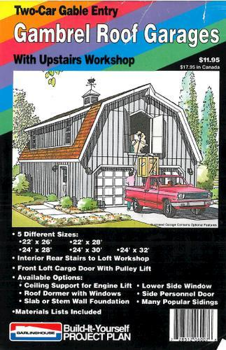 Gambrel Roof Garages Plan   Building Plans Only At Menards®