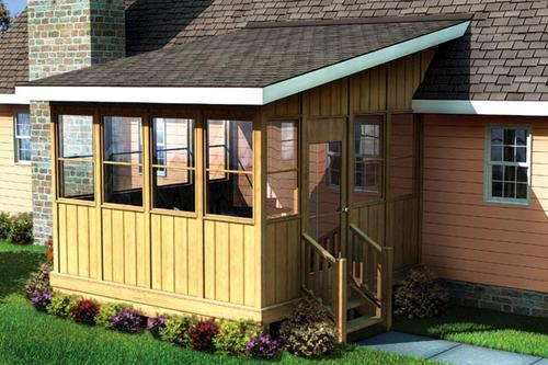 Three Season Porch Building Plans Only At Menards