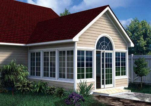 Gabled Sunroom Addition Building Plans Only At Menards