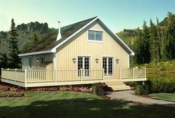 G20001CabinRetreat Menards Stovall House Plan on