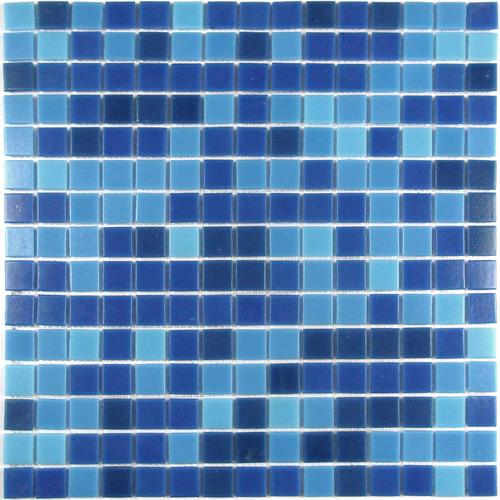GBM® Swimming Pool 13 x 13 Glass Mosaic Tile at Menards®