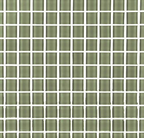 GBM® Metro Subway Jade 12 x 12 Glass Mosaic Tile