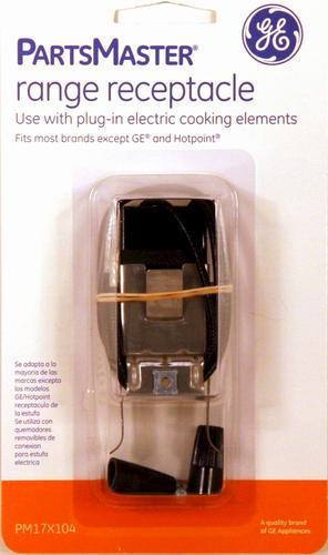Ge Partsmaster Universal Electric Range Plug In Receptacle