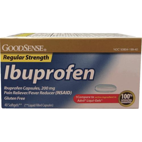 Goodsense Ibuprofen Liquid Softgels 40 Ct At Menards