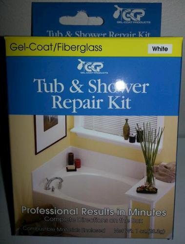 Tub And Shower Surface Repair Kit   White At Menards®