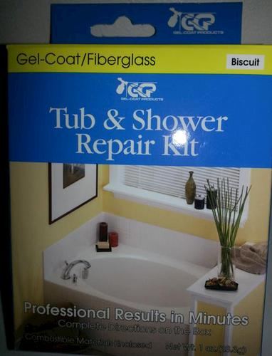 Tub And Shower Surface Repair Kit   Biscuit At Menards®