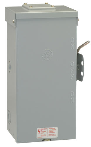 Ge 100 Amp 240 Volt Outdoor Non Fused Emergency Power Transfer Switch At Menards
