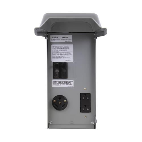 Ge 30 Amp Outdoor Outlet Box For
