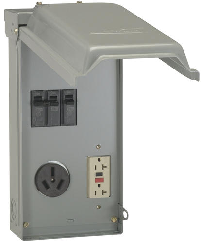 GE 70-Amp Outdoor Temporary Power Panel at Menards® on