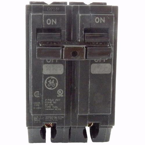 GE Type TQP 20 Amp 2-Pole Breaker