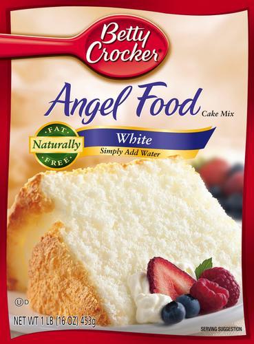 betty crocker white angel food cake 16 oz at menards