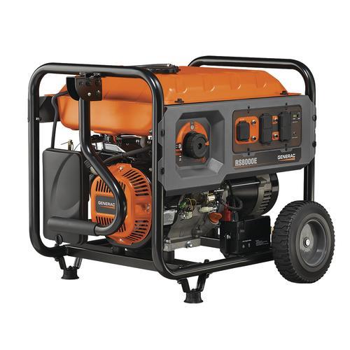 Generac 10000 Watt Generator >> Generac 8 000 Running 10 000 Starting Watt Gasoline Portable