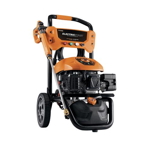 "Generac eStartâ""¢ 2100 3100 PSI 2 5 GPM Gas Pressure Washer at Menards"
