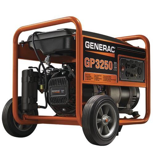 Generac® 3,250 Running 3,750 Starting Watts Gasoline