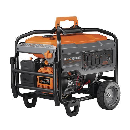 Generac 10000 Watt Generator >> Generac Xc 8 000 Running Watt 10 000 Starting Watt Gasoline