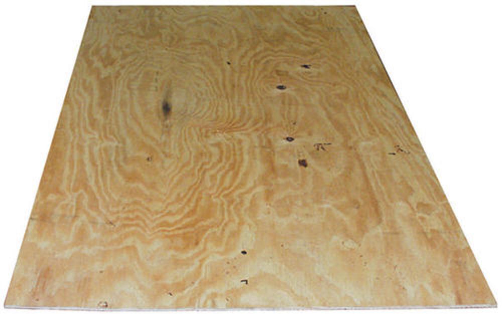 3 4 X 4 X 8 Plywood Sheathing At Menards