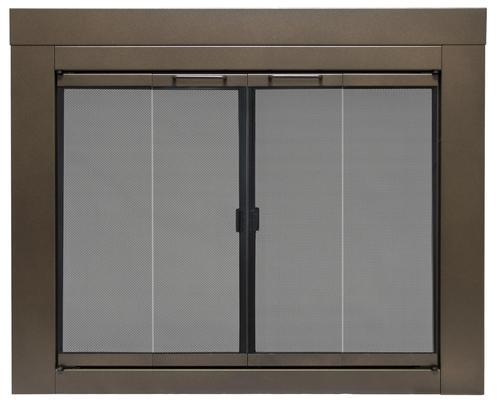 Pleasant Hearth Abberly Medium Fireplace Door at Menards®