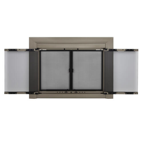 Pleasant Hearth Coronet Small Cabinet-Style Fireplace Door at Menards®