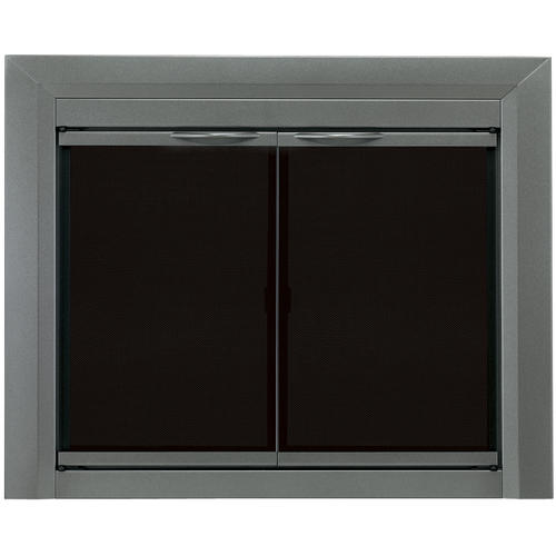 Pleasant Hearth Craton Large Cabinet-Style Fireplace Door