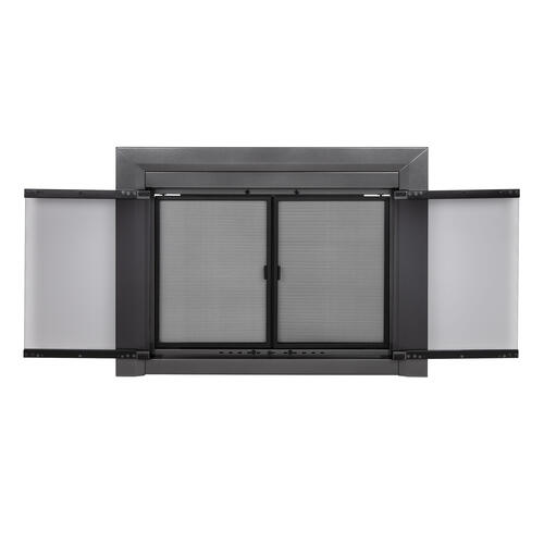 Pleasant Hearth Craton Large Cabinet-Style Fireplace Door at Menards®