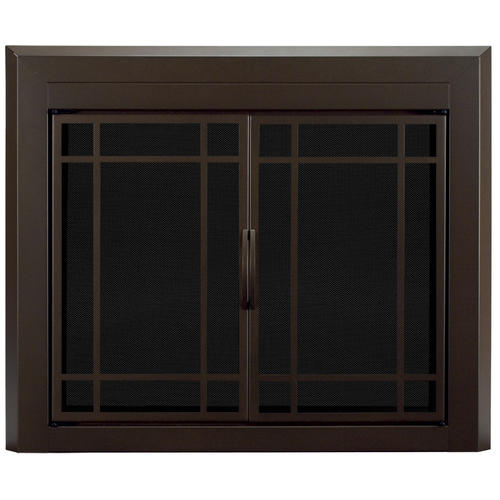 Prairie Style Kitchen Cabinets: Pleasant Hearth Enfield Large Prairie Cabinet Style