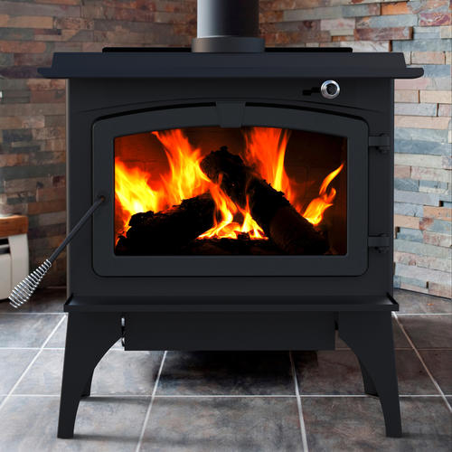 - Pleasant Hearth Wood Stove With Legs And Blower Included At Menards®