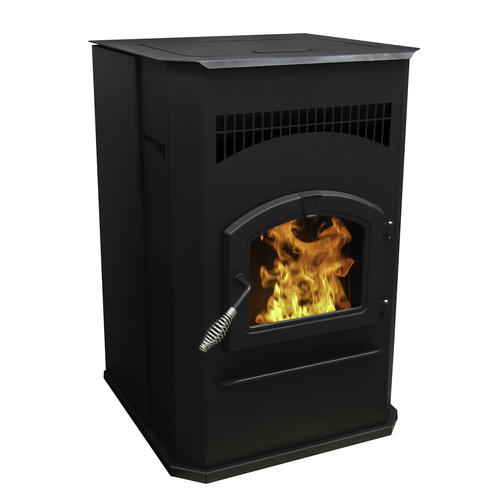 Pleasant Hearth Large Pellet Stove with 120 lb. Hopper (2,200 sq ...