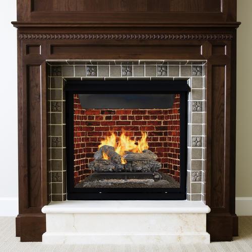 decorative indoor firewood rack outdoor fireplace wood.htm pleasant hearth mountain oak series 24  vent free duel fuel  pleasant hearth mountain oak series 24