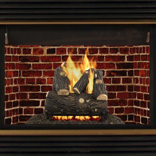 Pleasant Hearth Savanna Oak 18 Quot Vented Natural Gas