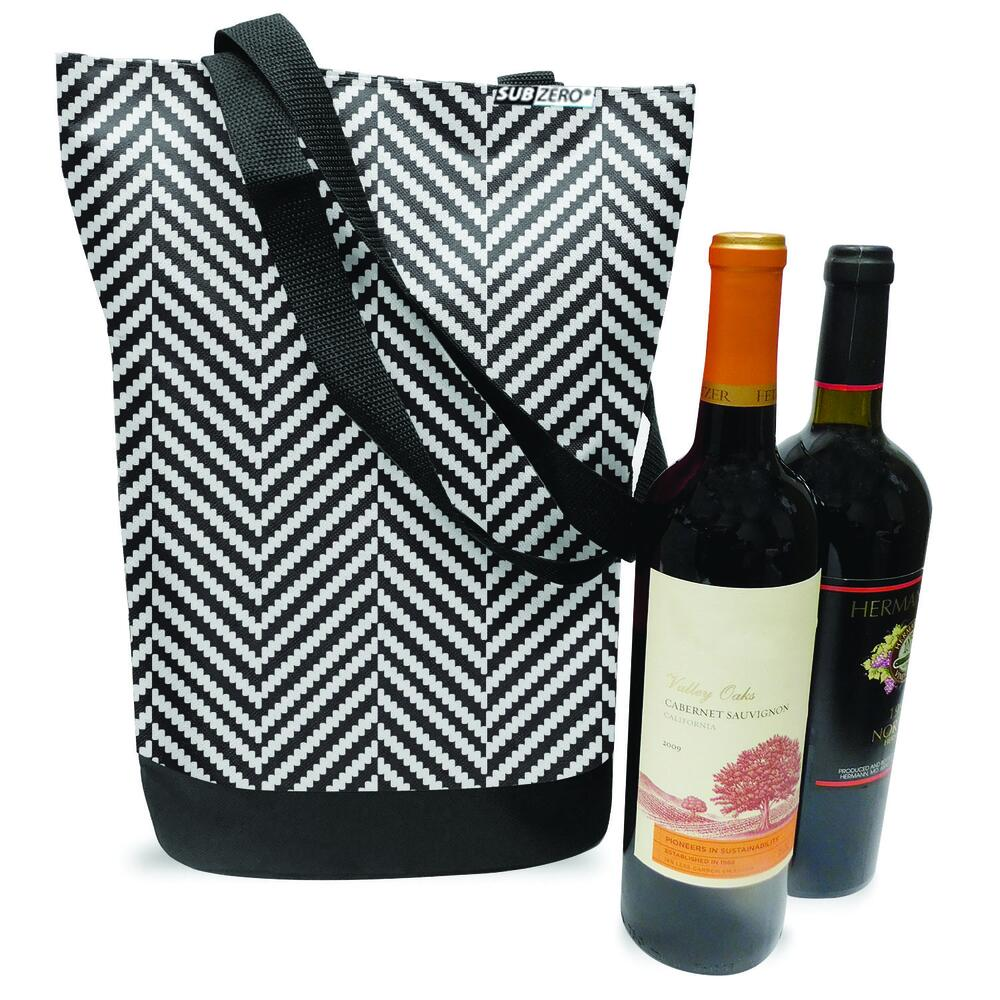Subzero 2 Bottle Wine Tote Assorted Styles At Menards