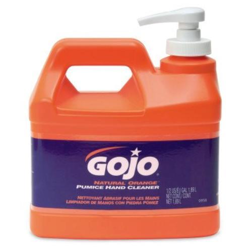 gojo natural orange pumice hand cleaner 64 oz at menards