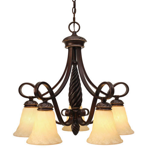 Photon Lighting Tyler 24 1 4 5 Light Cordoban Bronze Nook