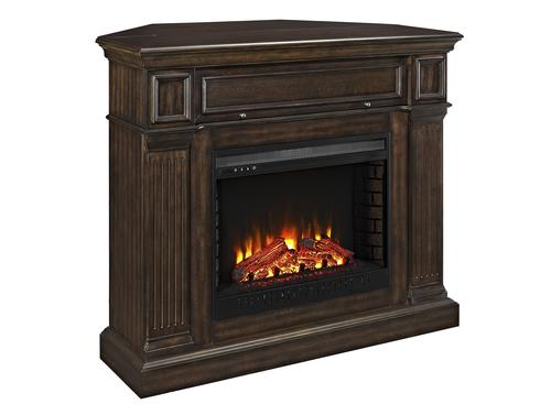 Whalen 174 54 Quot Leland Corner Electric Fireplace At Menards 174