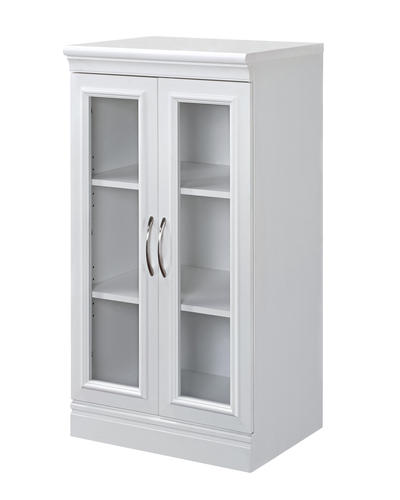 Whalen 21 38 W X 40 H Glass Door Cabinet At Menards