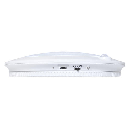 Good Earth Lighting LED White Battery Operated Ceiling ...