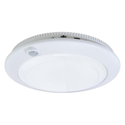 Good Earth Lighting Led White Battery Operated Ceiling Light