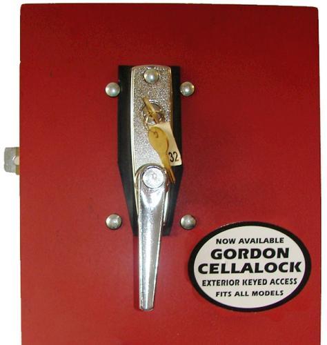 & Gordon Steel Interior/Exterior Keyed Cellalock at Menards®