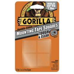 Gorilla 174 Double Sided Mounting Tape Squares 24ct At Menards 174