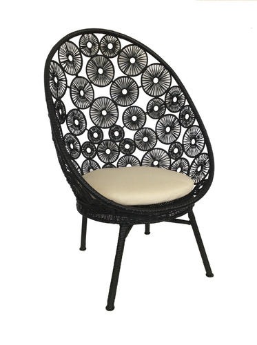 Backyard Creations Wicker Egg Patio Chair Assorted Colors At