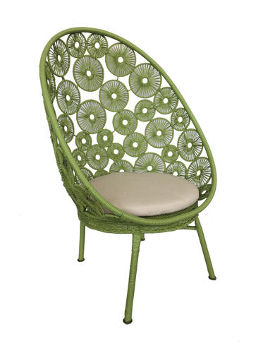 Backyard Creations Wicker Egg Patio Chair Assorted Colors At Menards