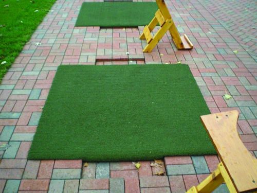 GrassTex Grand Slam Driving Range Indoor/Outdoor Mat 5 ft. x 5 ft ...