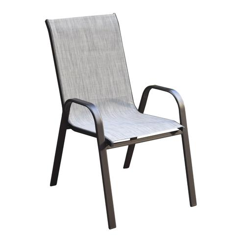 Brilliant Backyard Creations Edgewater Ii Stack Patio Chair At Menards Home Interior And Landscaping Eliaenasavecom