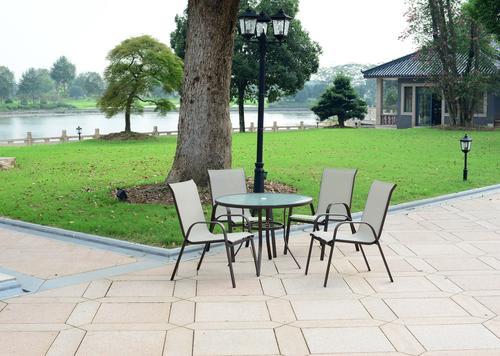 Backyard Creations Edgewater 5Piece Dining Patio Set at Menards