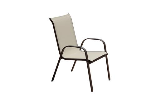 Backyard Creations® Edgewater Stacking Dining Patio Chair At Menards®