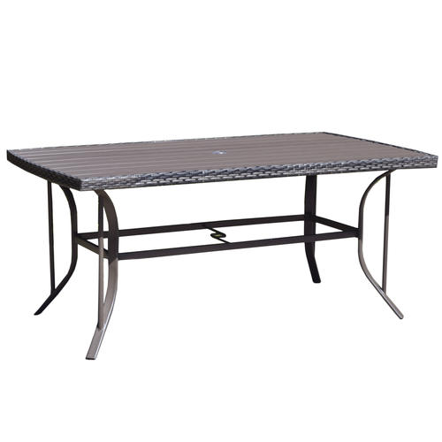Backyard Creations Windon Park Rectangular Dining Patio Table