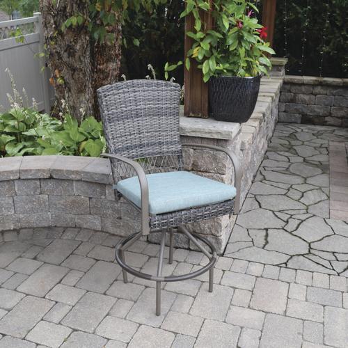 Backyard Creations® Windon Park Swivel Bar Height Dining
