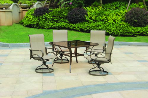 Backyard Creations® Catalina 5 Piece Dining Patio Set At Menards®