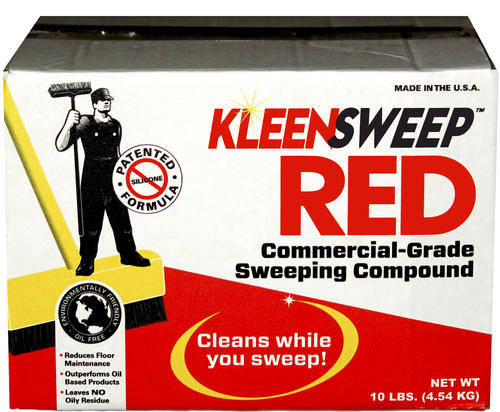 Kleen Sweep Red Commercial Grade Sweeping Compound 10